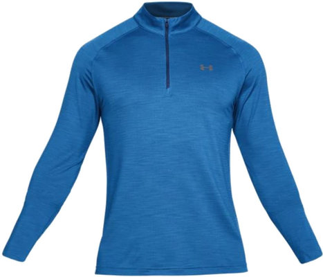 Under Armour Playoff 1/4 Zip Mediterranean/Rhino Gray L