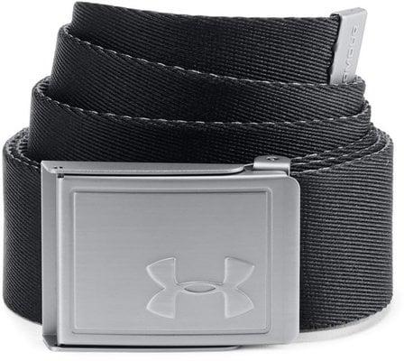 Under Armour Men's Webbing 2.0 Belt Black/Rhino Gray