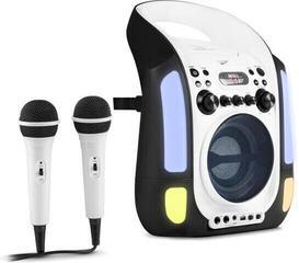 Auna Kara Illumina Karaoke system Black