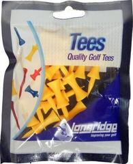 Longridge Castle Tees 25 mm Yellow 20 pcs