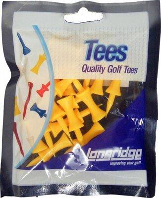 Longridge Castle Tees 25 mm Yellow 20 pcs