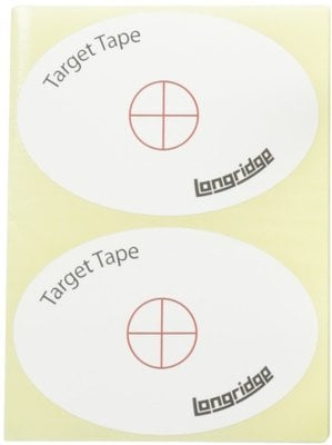 Longridge Target Tape (50 Stickers)