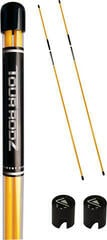 Longridge Tour Rodz Alignment Sticks - 2Pc Yellow