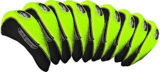 Longridge Eze Iron Covers 10Pcs Black/Lime