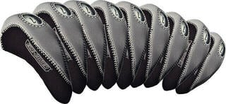 Longridge Eze Iron Covers 10Pcs Black/Silver