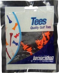 Longridge Castle Tees 5 mm Orange 20 pcs