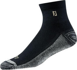 Footjoy ProDry Quarter Black Socks Mens