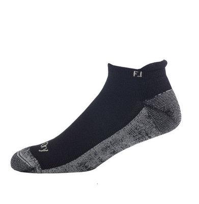 Footjoy ProDry Rolltab Black Socks Mens