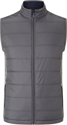 Callaway Fibre Filled Puffer Vest Medium Grey Heather S Mens