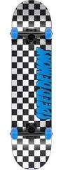 Speed Demons Checkers Skateboard Complete 7,25'' Checkers Blue