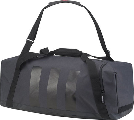 Adidas 3-Stripes Medium Duffle Dark Gery/Black M