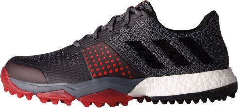 Adidas Adipower S Boost 3 Mens Golf Shoes Onix/Core Black/Scarlet UK 8