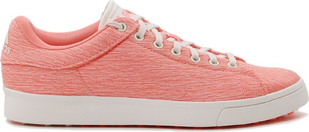 Adidas Adicross Classic Womens Golf Shoes Chalk Coral/Chalk White/Chalk Coral UK 4,5