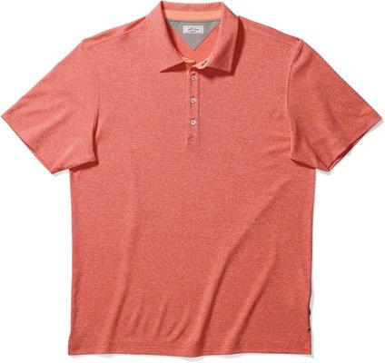 Adidas Adipure Tricolor Pique Mens Polo Shirt Sun Glow M