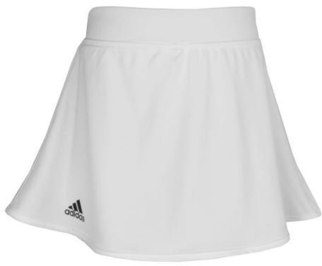 Adidas Girls Printed Skirt White 11-12Y