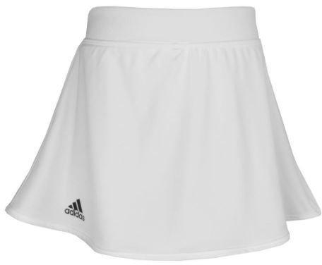 Adidas Girls Printed Skort White 13-14Y