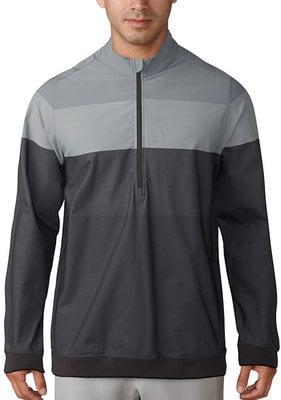 Adidas Gradient 1/4 Zip Carbon/Grey Three L