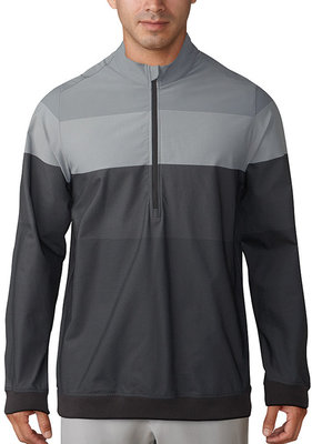 Adidas Gradient 1/4 Zip Carbon/Grey Three M