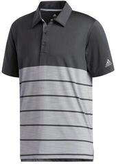 Adidas Ultimate365 Heathered Block Mens Polo Shirt Carbon