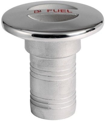 Osculati Fuel Deck plug Stainless Steel AISI316 38mm