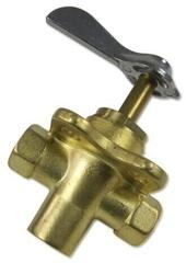 Osculati 3-way fuel valve 3/8''