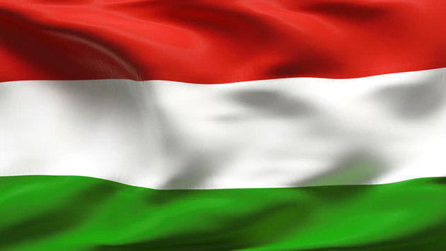 Talamex Bandiera nazionale Hungary 50x75 cm