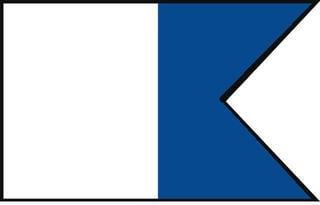 Talamex Signal Flag A