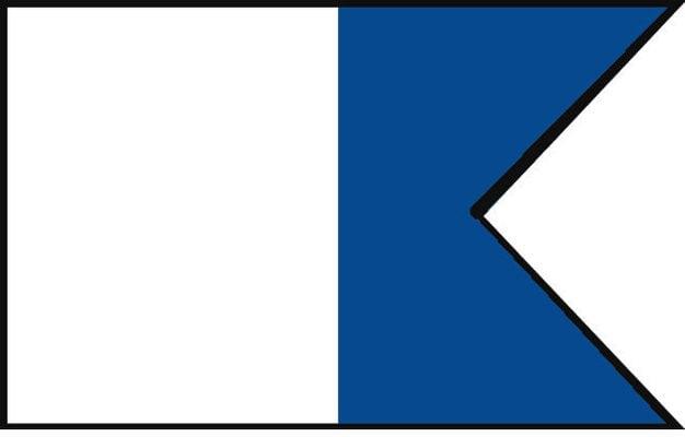 Talamex A Steag de semnalizare