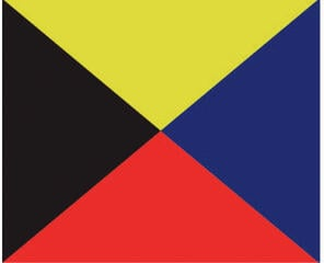 Talamex Signal Flag Z