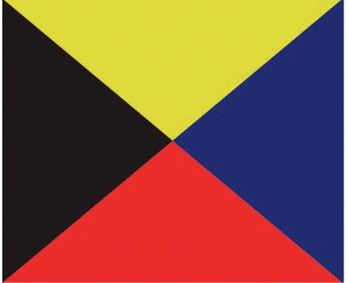 Talamex Z Steag de semnalizare