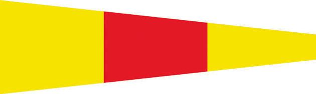 Talamex Signal Flag - Nr.0