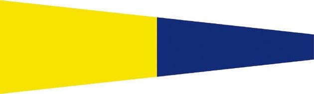 Talamex Signalizačná vlajka - Nr.5