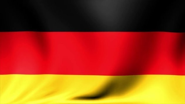 Lindemann Flag Germany 20x30 cm