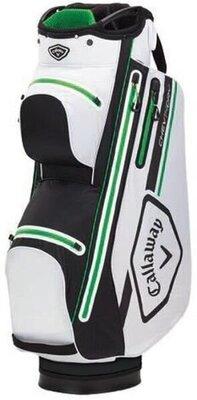 Callaway Chev 14 Dry Cart Bag White/Black/Green