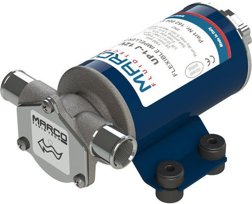 Marco UP1-J Pump, rubber impeller 28 l/min - 24V
