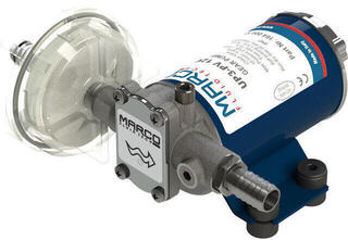 Marco UP3-PV PTFE Gear pump 15 l/min with check valve 24V