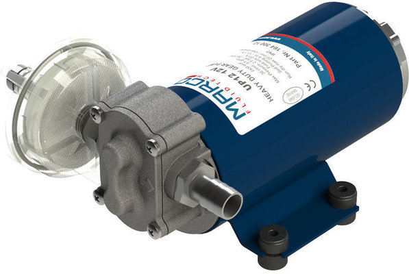 Marco UP12-P PTFE gear pump 36 l/min - 12V