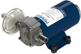 Marco UP12-PV PTFE gear pump 36 l/min with check valve - 12V