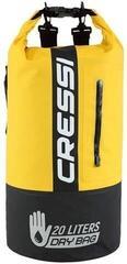Cressi Dry Bag Bi-Color Black/Yellow 20L