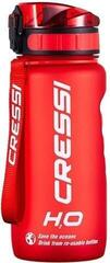 Cressi H2O Frosted Water Bottle Red 600 ml