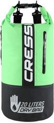 Cressi Dry Bag Bi-Color Black/Fluo Green 20L