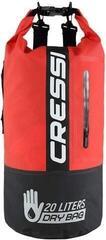 Cressi Dry Bag Bi-Color Black/Red 20L