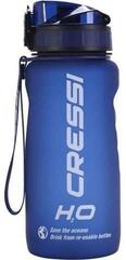 Cressi H2O Frosted Water Bottle Blue 600 ml