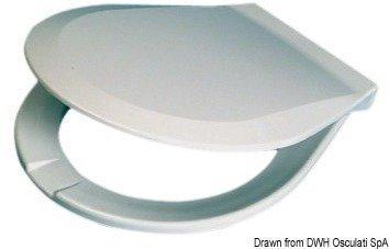 Osculati Soft Close Spare Board Compact Toaletă marină manuală