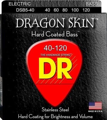 DR Strings DSB5-40 Set de 5 corzi pentru bas