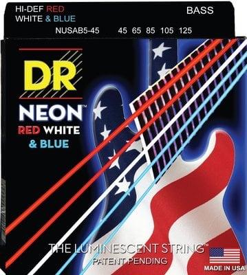 DR Strings NUSAB5-45 Set de 5 corzi pentru bas