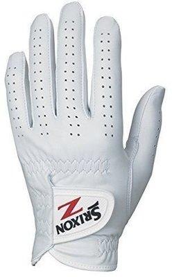 Srixon Premium Cabretta Mens Golf Glove White Left Hand for Right Handed Golfers S