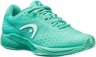 Head Revolt Pro 3.0 Clay Women Light Teal 6,5