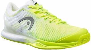 Head Sprint Pro 3.0 Clay Men Neon Yellow/White 10