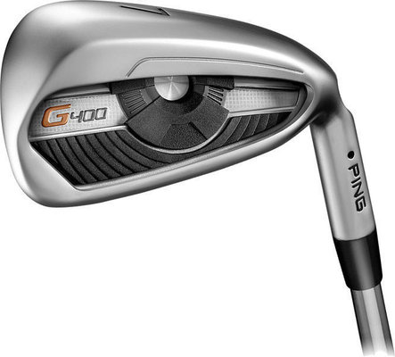Ping G400 Irons 4-PW Black Steel AWT 2.0 Regular Right Hand